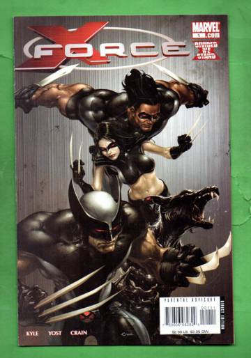 X-Force #1 Apr 2008