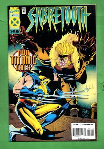Sabretooth Classic Vol. 1 #12 Apr 95