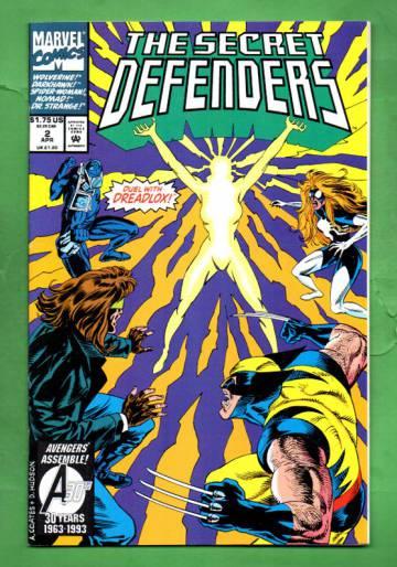 Secret Defenders Vol. 1 #2 Apr 93