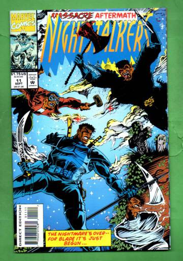 Nightstalkers Vol. 1 #11 Sep 93
