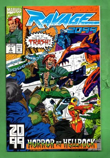 Ravage 2099 Vol. 1 #3 Feb 93