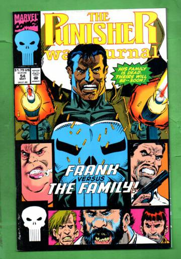 The Punisher War Journal Vol.1 #54 May 93