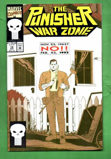 The Punisher: War Zone Vol.1 #14 Apr 93