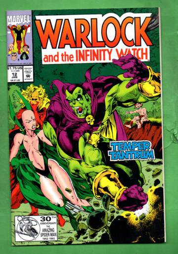 Warlock and the Infinity Watch Vol. 1 #12 Jan 93