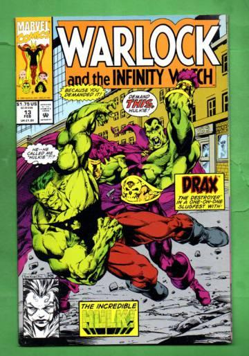 Warlock and the Infinity Watch Vol. 1 #13 Feb 93