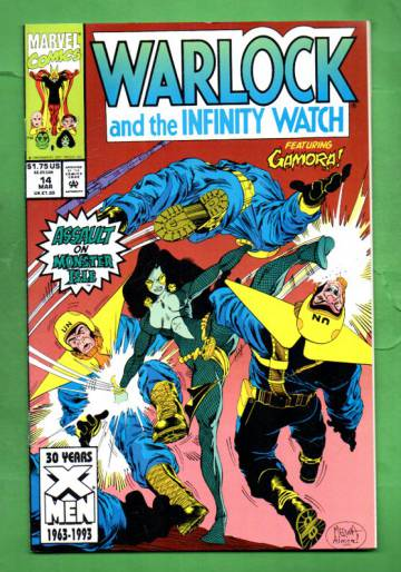 Warlock and the Infinity Watch Vol. 1 #14 Mar 93