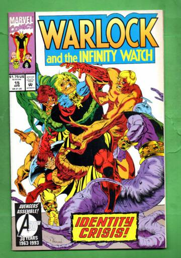 Warlock and the Infinity Watch Vol. 1 #15 Apr 93