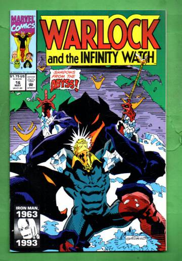 Warlock and the Infinity Watch Vol. 1 #16 May 93