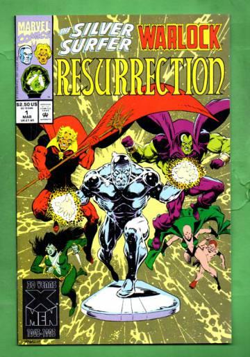 Silver Surfer/Warlock: Resurrection Vol.1 #1 Mar 93