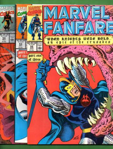 Marvel Fanfare Vol. 1 #52 Aug 90 - #54 Dec 90 (whole mini-series)