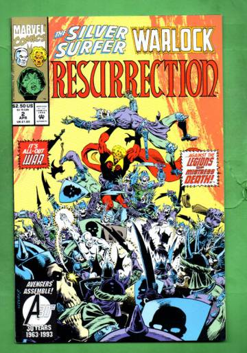 Silver Surfer/Warlock: Resurrection Vol.1 #2 Apr 1993