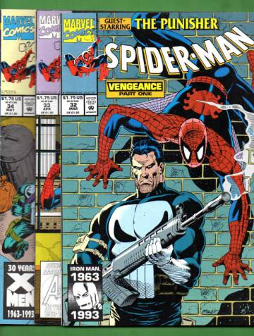 Spider-Man Vol. 1 #32 Mar 93 - #34 May 93: Vengeance (whole mini-series)