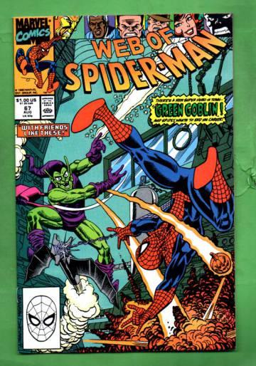 Web of Spider-Man Vol.1 #67 Aug 90