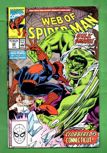 Web of Spider-Man Vol.1 #69 Oct 90