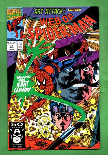 Web of Spider-Man Vol.1 #74 Mar 91