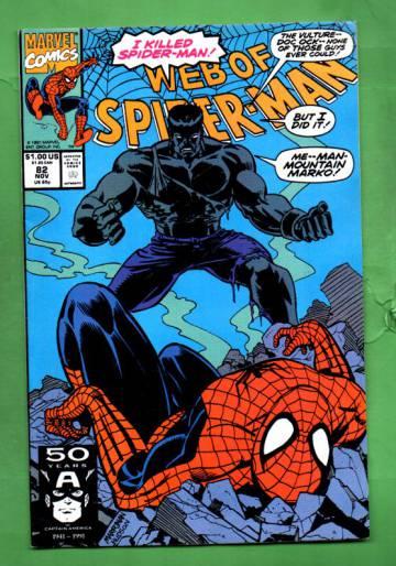 Web of Spider-Man Vol.1 #82 Nov 91