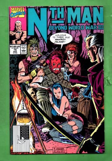 Nth Man Vol. 1 #15 Aug 90