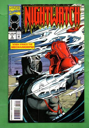 Nightwatch Vol. 1 #3 Jun 94