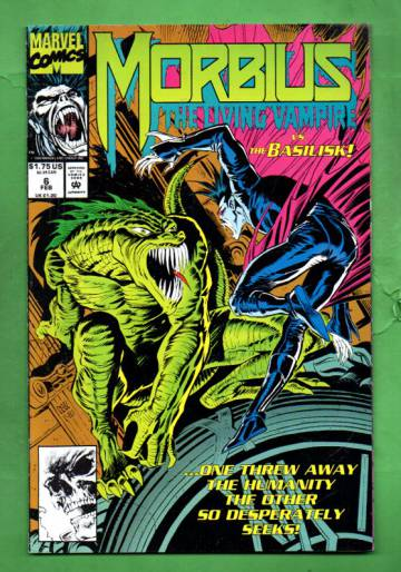 Morbius: The Living Vampire Vol. 1 #6 Feb 93