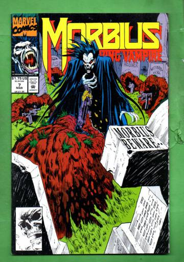 Morbius: The Living Vampire Vol. 1 #7 Mar 93