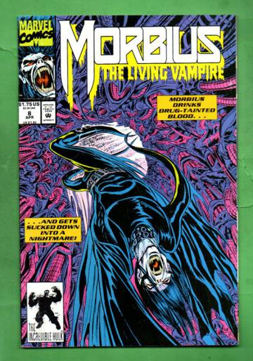 Morbius: The Living Vampire Vol. 1 #8 Apr 93