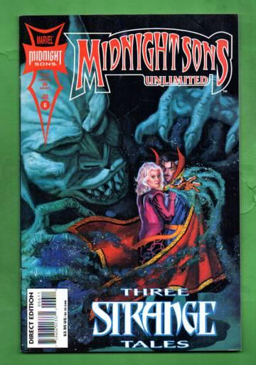 Midnight Sons Unlimited Vol. 1 #6 Jul 94