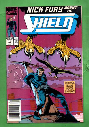 Nick Fury, Agent of S.H.I.E.L.D. Vol.2 #11 May 90