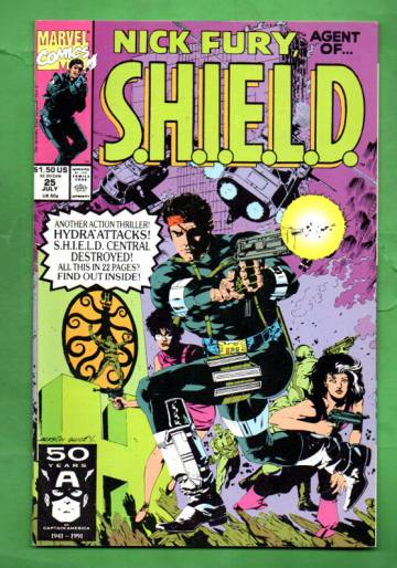 Nick Fury, Agent of S.H.I.E.L.D. Vol. 2 #25 Jul 91