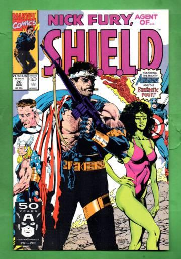 Nick Fury, Agent of S.H.I.E.L.D. Vol. 2 #26 Aug 91