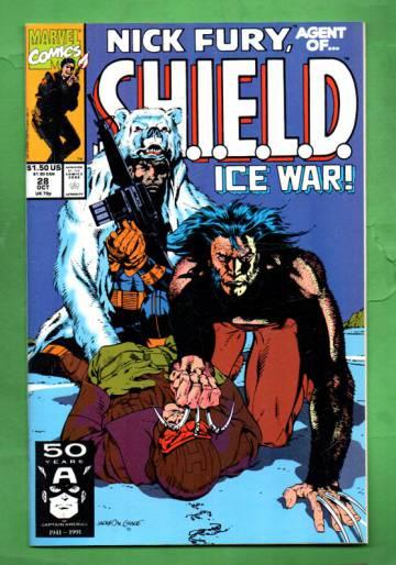 Nick Fury, Agent of S.H.I.E.L.D. Vol. 2 #28 Oct 91