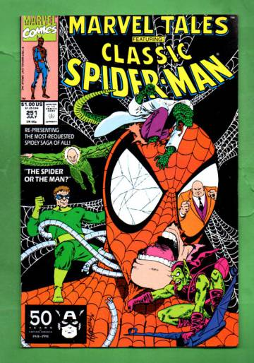 Marvel Tales Featuring Spider-Man Vol. 1 #251 Jul 91