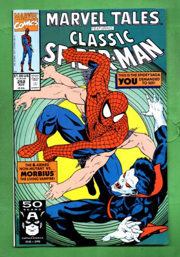 Marvel Tales Featuring Spider-Man Vol. 1 #252 Aug 91