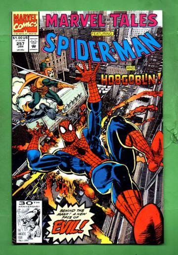 Marvel Tales Featuring Spider-Man Vol. 1 #257 Jan 92