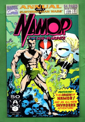 Namor, The Sub-Mariner Annual Vol. 1 #1 91