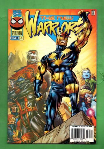 New Warriors Vol. 1 #75 Sep 96
