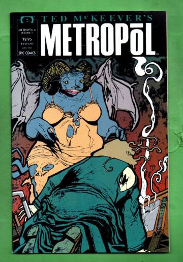 Ted McKeever's Metropol Vol.1 #4 Jun 91