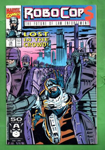 Robocop Vol.1 #15 May 91