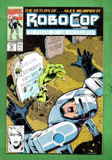 Robocop Vol.1 #16 Jun 91