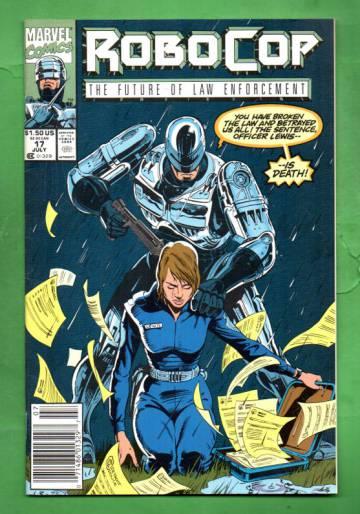 Robocop Vol.1 #17 Jul 91