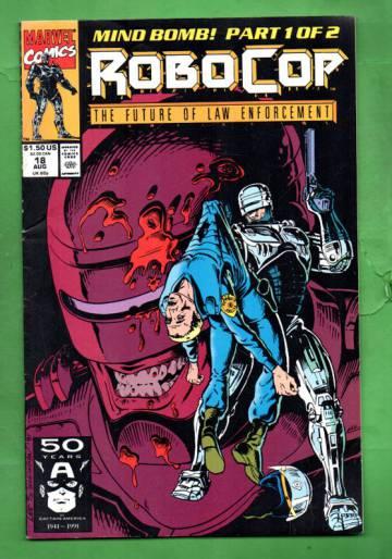Robocop Vol.1 #18 Aug 91
