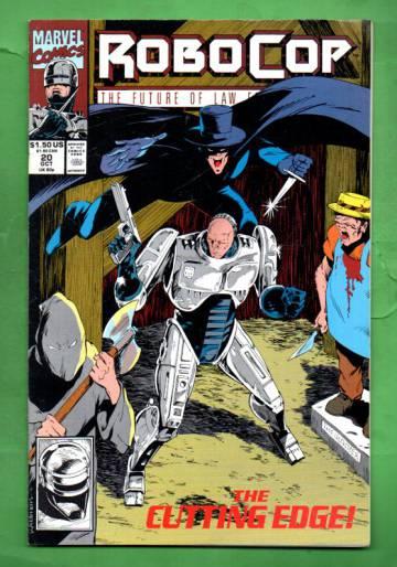 Robocop Vol.1 #20 Oct 91