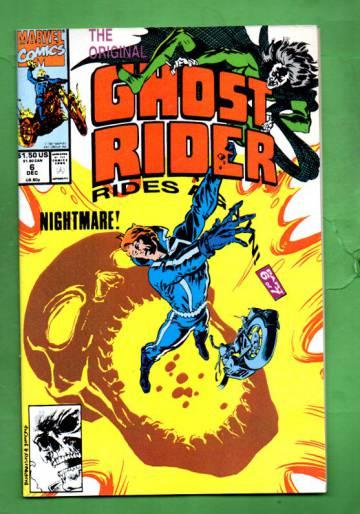 The Original Ghost Rider Rides Again Vol.1 #6 Dec 91