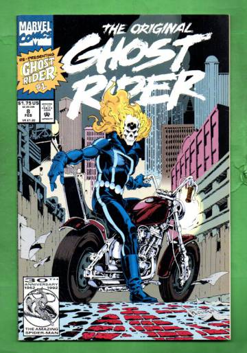 The Original Ghost Rider Rides Again Vol.1 #8 Feb 93