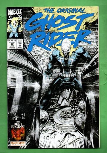 The Original Ghost Rider Rides Again Vol.1 #12 Jun 93