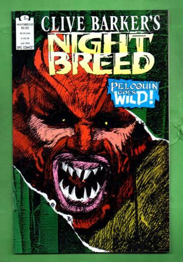 Clive Barker's Night Breed Vol.1 #23 Jan 93