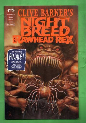 Clive Barker's Night Breed Vol.1 #16 Jun 92