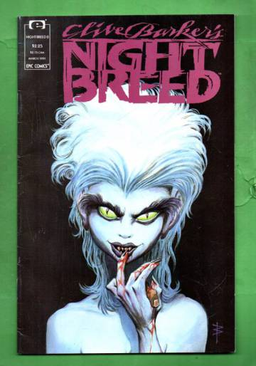 Clive Barker's Night Breed Vol.1 #8 Mar 91