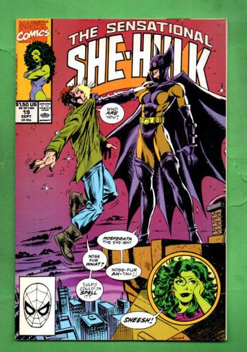 The Sensational She-Hulk Vol.2 #19 Sep 90