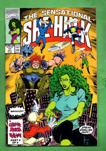 The Sensational She-Hulk Vol.2 #17 Jul 90
