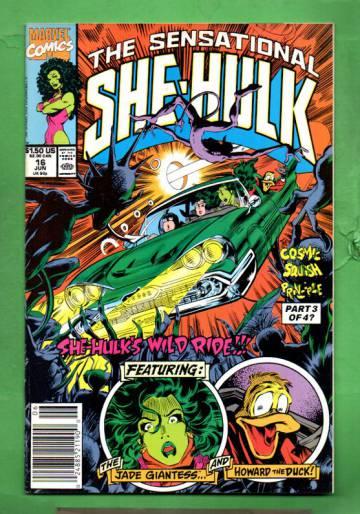 The Sensational She-Hulk Vol. 2 #16 Jun 90